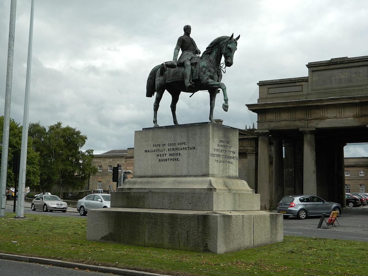 Equestrian Statue Of Viscount Combermere Wikipedia