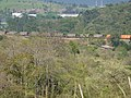Comboio parado no pátio da Estação Capricórnio em Mairinque - Variante Boa Vista-Guaianã km 161 - panoramio.jpg