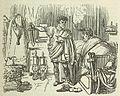 Comic History of Rome p 103 Titus threatening Pomponius.jpg