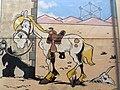 Comic wall Lucky Luke, Morris. BD, Brussels.jpg