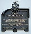 Commemorative plaque in tribute to Jan Długosz (Polish historician), 25 Kanonicza street, Old Town, Krakow, Poland.jpg