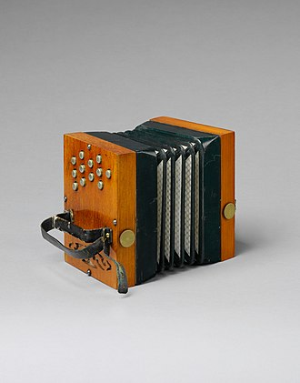 Duet concertina - Charles Wheatstone's Duet concertina 1855–60