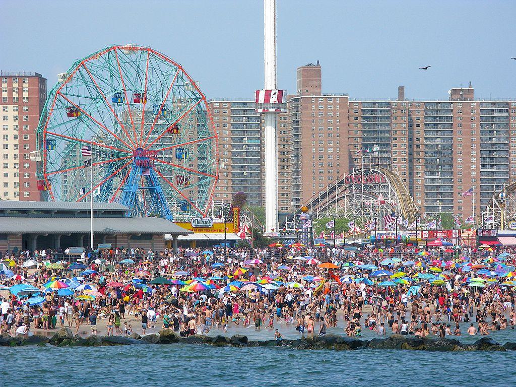 Memorial To Coney Island