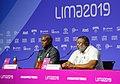 Conferencia de prensa de medallistas Carl Lewis y Leroy Burrel - 48468225592.jpg