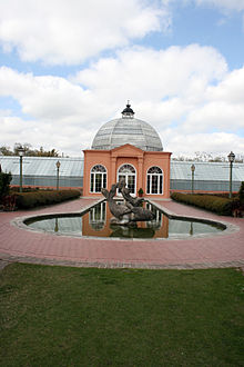 Fountain And The Conservatory