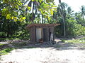 Construction of new Teraaka toilet block. Kiribati 2011. Photo- AusAID (10690165394).jpg