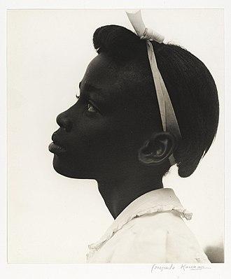 Consuelo Kanaga - Image: Consuelo Kanaga, Young Girl in Profile 1948