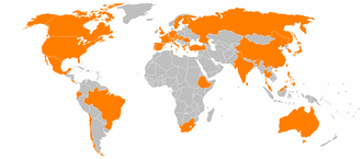Continental AG - Continental AG global locations.