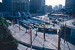 Convention Place station from Pine and Boren in 1997.jpg