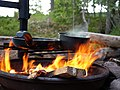 Cooking on a campfire in Sweden 01.jpg