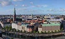 Copenhagen - view from Christiansborg castle.jpg