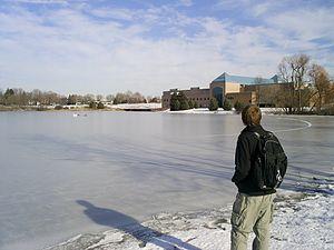Cornerstone University - A view of the Bernice Hansen Center