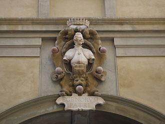 Giulio Parigi - Image: Cosimo II, loggia del Grano