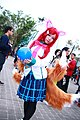 Cosplayer of Ahri, League of Legends at CWT41 20151212b.jpg