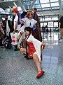 Cosplayers of Sakura Kinomoto and Meiling Li at Anime Expo 20100702.jpg