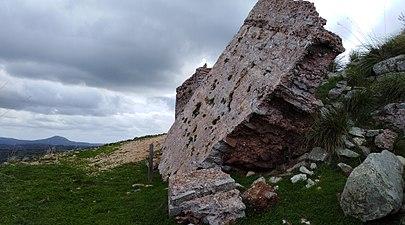 Costa sud de ciutadella desde castell de santa águeda.jpg