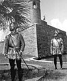 Costumed conquistadors at Castillo de San Marcos- St. Augustine, Florida (9141621779).jpg