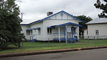 Country Women's Association building, The Boulevard, Theodore, 2014.JPG