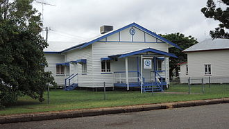Theodore, Queensland - Country Women's Association hall, 2014