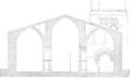 Coupe de l'église Saint-Jean-le-Vieux de Perpignan par Jean-Auguste Brutails.png