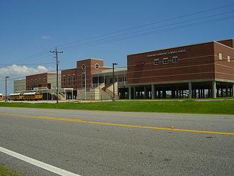 Bolivar Peninsula, Texas - Crenshaw Elementary and Middle School, K-8