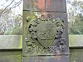 Crest of the Halsey family - geograph.org.uk - 86838.jpg