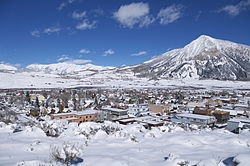 Crested Butte – the town and mountain