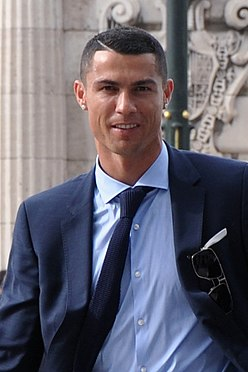 Cristiano Ronaldo after 2018 UEFA Champions League Final.jpg