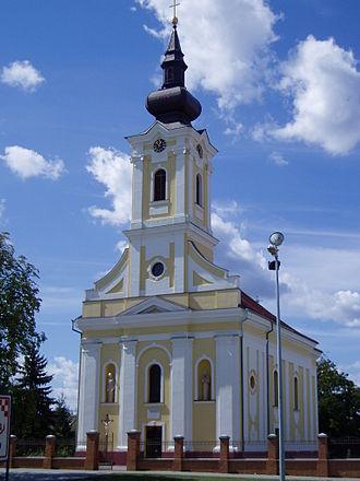 Vrbanja, Croatia - Image: Crkva u Vrbanji