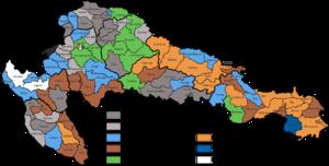 Croatian parliamentary election, 1910 - Image: Croatian Parliamentary Election Results 1910