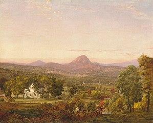 Autumn Landscape, Sugar Loaf Mountain, Orange County, New York