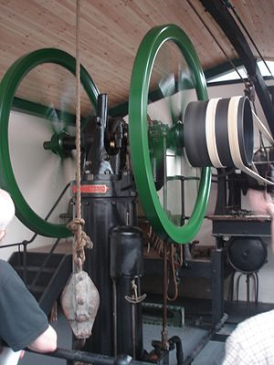 Anson Engine Museum - Image: Crossley Atmospheric Engine