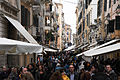 Crowded streets of Corfu. Corfu Island, Ionian Sea, Greece.jpg