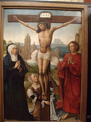 Triclavianism - Triclavian depiction of the crucifixion of Jesus
