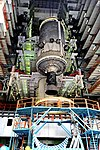 Cryogenic Upper Stage is being integrated with the GSLV-MK III D1.jpg