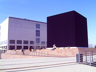 Gregor Schneider - The Black Square – Hommage to Malevich near the Hamburger Kunsthalle