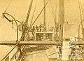 Cubierta de la corbeta Abtao después del combate de Antofagasta del 28 de agosto de 1879.jpg