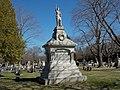 Cummings and Rand Monument - Evergreen Cemetery.JPG
