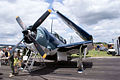 Curtiss SB2C-5 Helldiver BuNo 83589 NX92879 LFront SNF 16April2010 (14444022957).jpg