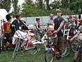 Cyclecide rodeo bikes - Bumbershoot 2007.jpg