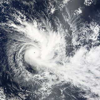 Cyclone Daman Category 4 South Pacific cyclone in 2007