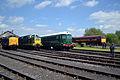 D9009, 55019, 18000 & 31466 - Didcot Railway Centre (8863667803).jpg