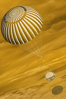 Artist's conception of DAVINCI probe