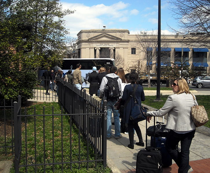 File:DC2NY bus stop in Dupont Circle.JPG