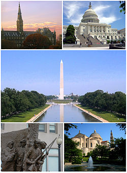 Collage di Washington