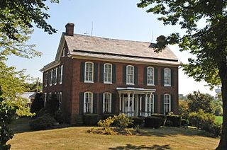 Decatur Hedges House building in West Virginia, United States