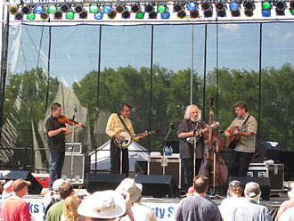 David Grisman - The David Grisman Bluegrass Experience performs at DelFest on May 30, 2010.
