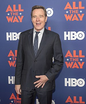 "Bryan Cranston - Cranston at the ""All the Way"" premiere at the LBJ Library in Austin"