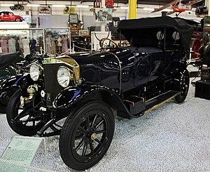 Daimler-Motoren-Gesellschaft - 1912 Mercedes Knight 4.0 50Hp at Technikmuseum Sinsheim