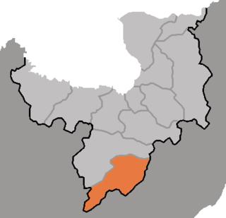 Kimhyonggwon County County in Ryanggang, North Korea